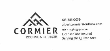 Cormier Roofing & Exteriors